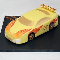 Car Cake by MilleFioriCakeDesign