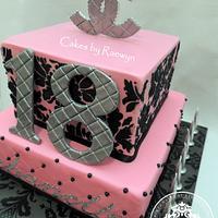 Chanelle's 18th Birthday Cake