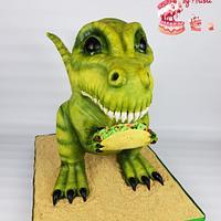 Patonio the Taco Loving Tyrannosaurus Rex