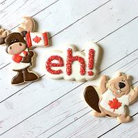 Canada 150 cookies
