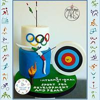 Sport Cake For Peace Collaboration