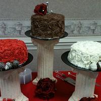 Rose Cake by PattyCakes