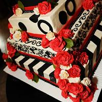 Different type of wedding cake!