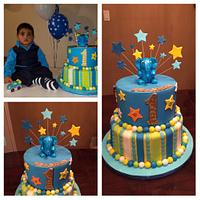 First birthday cake