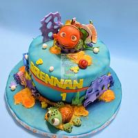Nemo Cake With Squirt Smash