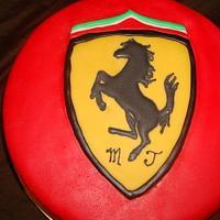 Ferrari Groom's Cake