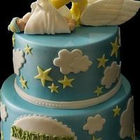 Baby Shower Cake  by Kayceelicious