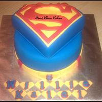 My 2nd superman cake