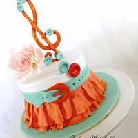 Skirt cake