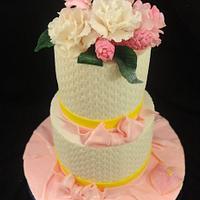 Butter Cream Basket Weave