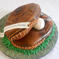 Softball Glove Cake