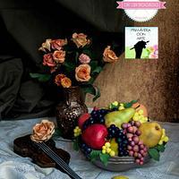 "Still life of Alexei Antonov: ""Primavera con arte"" Spring art"