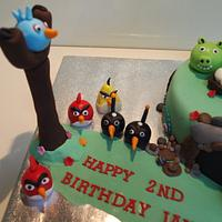 Angry Birds vs In the Night Garden by Katie Rogers