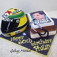 Senna helmet cake
