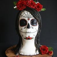 Día de Muertos Sugar Skull