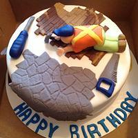 Flooring Cake