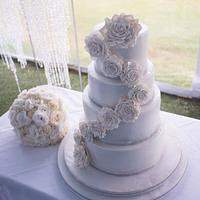 White Boho Wedding