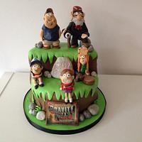 Gravity Falls themed cake