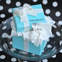 Tiffany Box Cakelet