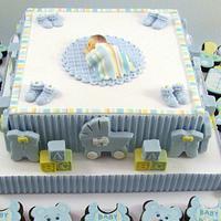 Baby Centerpiece by Cheryl
