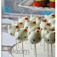Hello Kitty Cake and desserts by BloomCakeCo