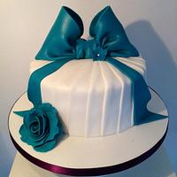 My pleated cake  by jodie