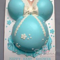 Belly cake ... by Cynthia Jones