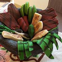 Food Cake Challenge Molcajete Poblano