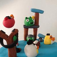 Angry Birds by Little Box Cakes by Angie
