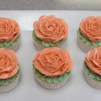 Rose SMBC cupcakes