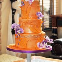 Hawaiian Debut Cake