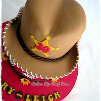 Cow girl hat, Yee-haw! by chefsam