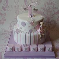 1st Birthday Cake for Surana by Let's Eat Cake