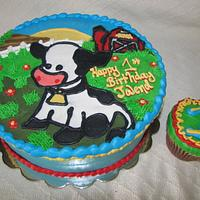 1st Birthday Cow