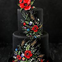 Ukrainian style cake