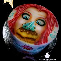 Art in Cake with Airbrush