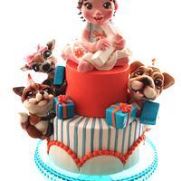 Sofia's first birthday