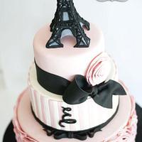 La Tour Eiffel by Delicia Designs