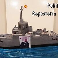 Fragata de la Armada Española