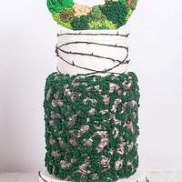 Moss Wreath Cake