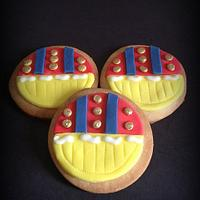 Snow white inspired cookies