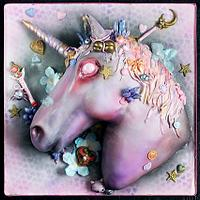 Crazy Infernal Unicorn by Maria Magrat