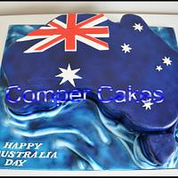 Australia Day Cake For Mandurah Council WA