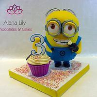Finally......My first Minion Cake