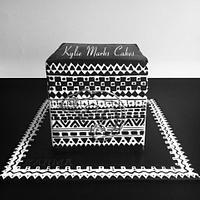 Hiding - Karma Chameleon cake