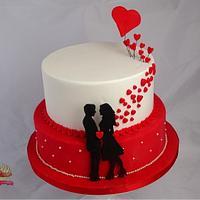 Valentine- Cake