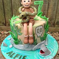 Deadly 60 Cake for Alfie