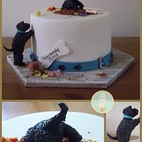 Mischievous Puppy Cake