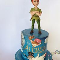 Peter Pan cake