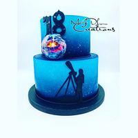 Physique cake isomalt